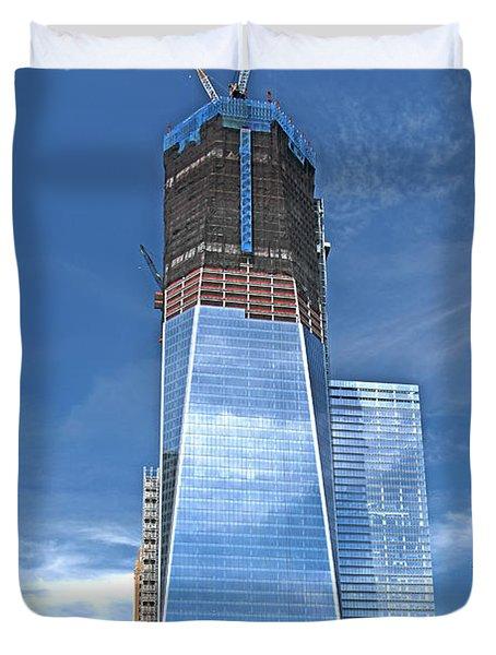 One World Trade Duvet Cover