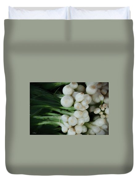 Onion 2 Duvet Cover by Travis Burgess