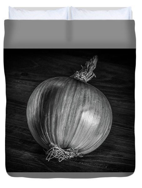 Onion Duvet Cover by Ray Congrove