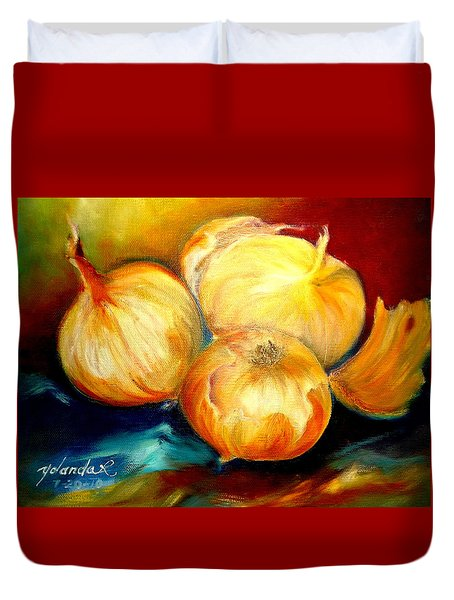 Onions Duvet Cover