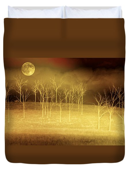 Only At Night Duvet Cover