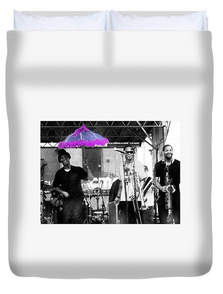 Only In Nola Duvet Cover by Steve Archbold