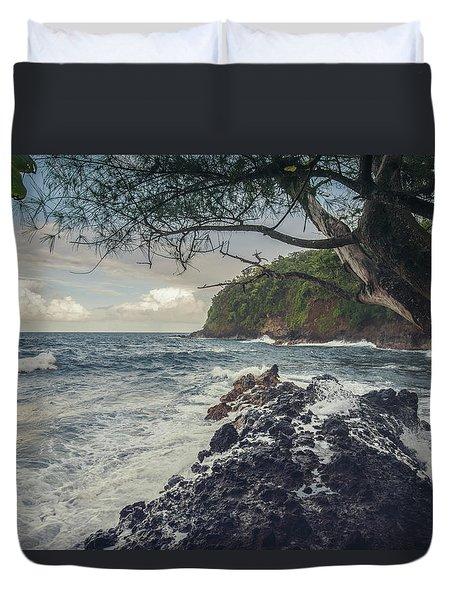 Onomea Bay Duvet Cover