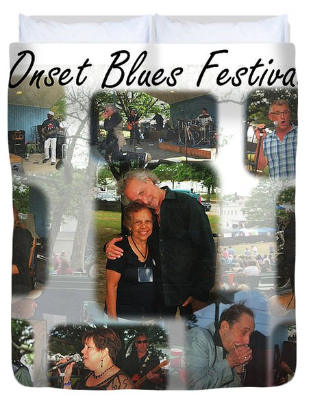 Onset Celebrates 25 Years Of Blues Duvet Cover