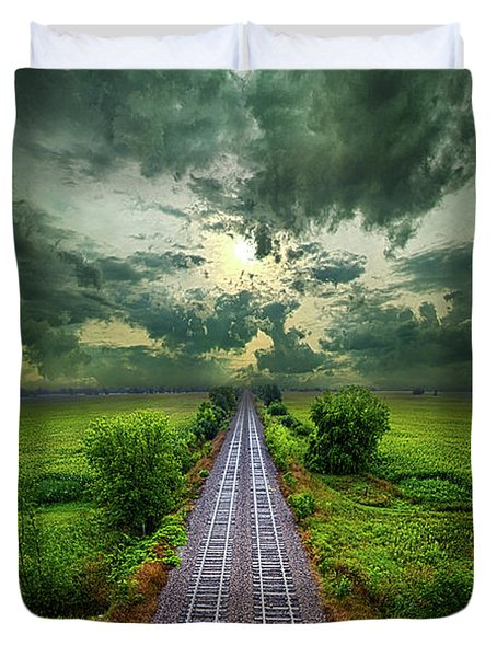 Onward Duvet Cover by Phil Koch