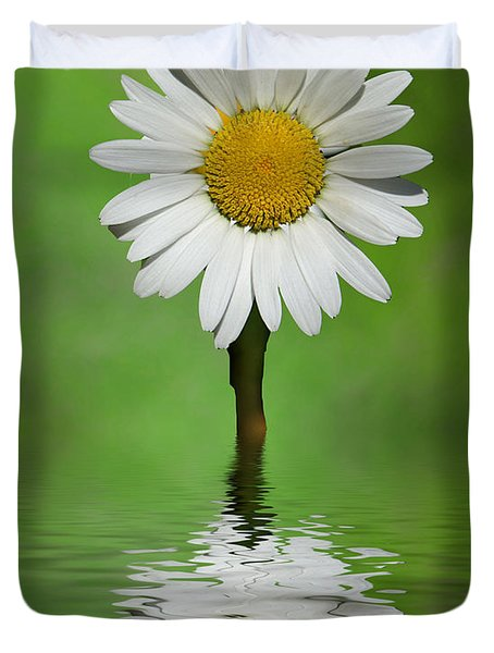 Oops Za Daisy Duvet Cover by Rick Friedle