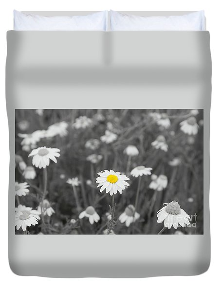 Duvet Cover featuring the photograph Oopsy Daisy by Benanne Stiens