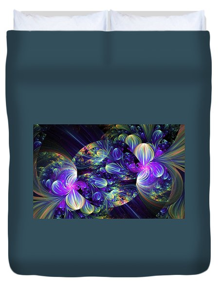 Opal Essence Duvet Cover by Lea Wiggins
