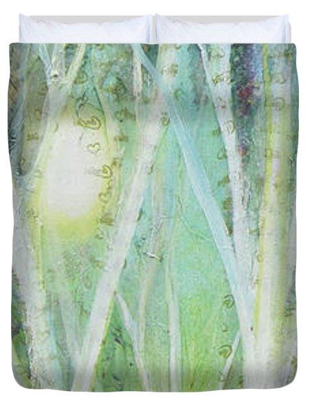 Opalescent Twilight I Duvet Cover
