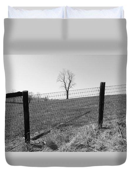 Open Land Duvet Cover