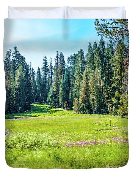 Open Meadow- Duvet Cover
