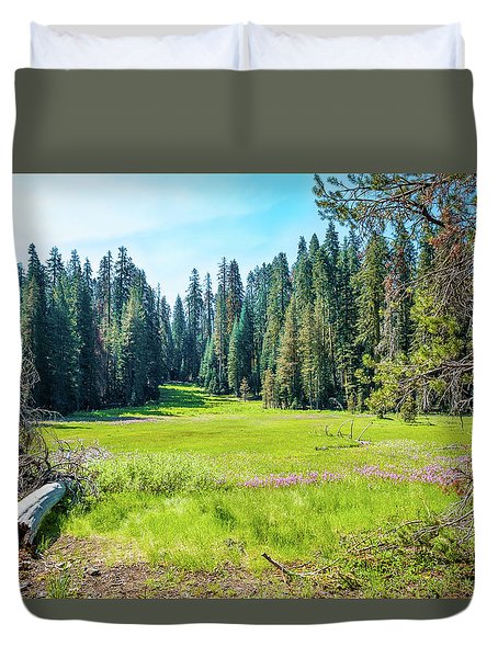 Open Meadow- Duvet Cover