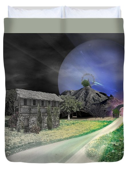 Open Portal Duvet Cover
