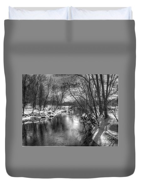 Open River Duvet Cover by Betsy Zimmerli
