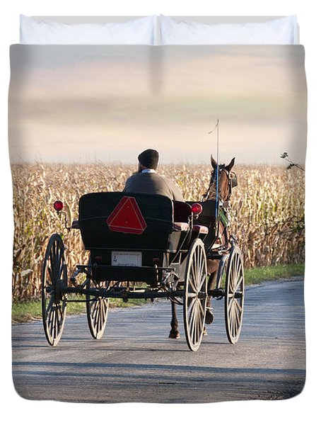 Open Road Open Buggy Duvet Cover