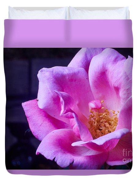 Open Rose Duvet Cover