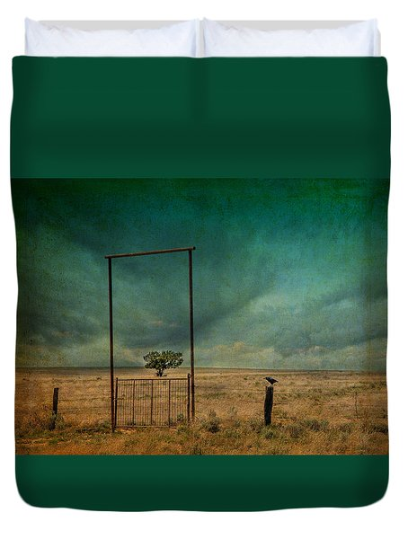 Open Space Duvet Cover by Carolyn Dalessandro