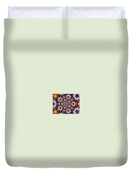 Open To Joy Duvet Cover