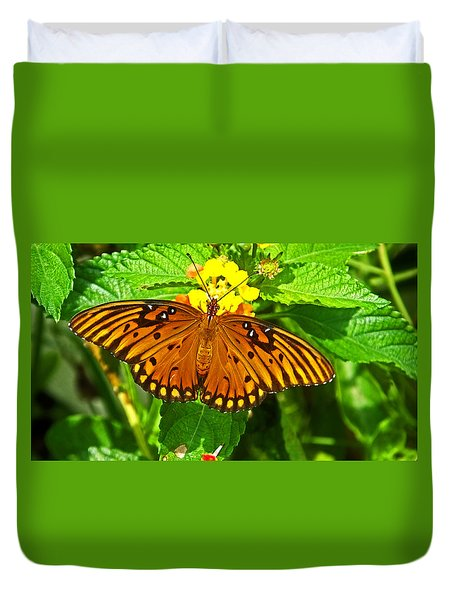 Open Wings Duvet Cover