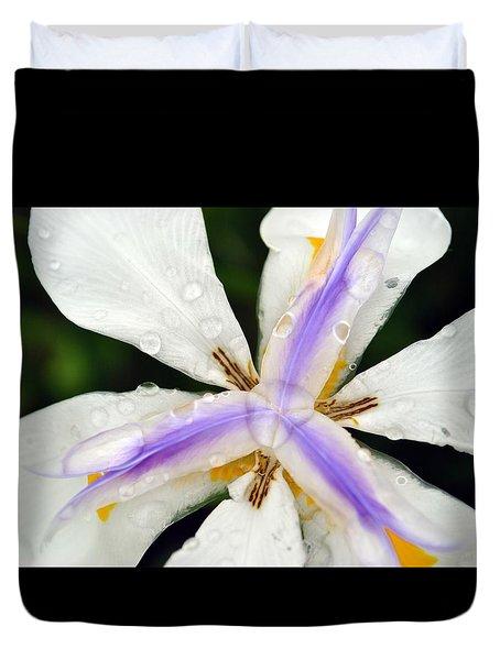Open Your Petals Duvet Cover by Amanda Eberly-Kudamik