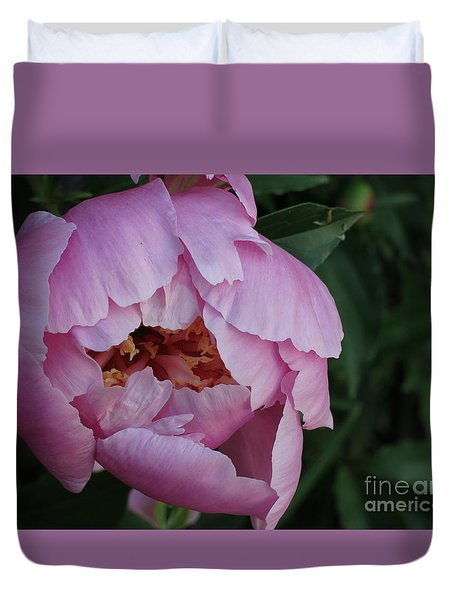 Opening Flower Duvet Cover
