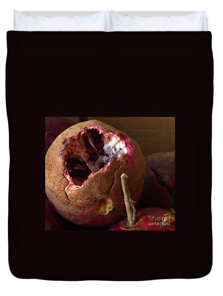Duvet Cover featuring the photograph Opening II  by Nora Boghossian