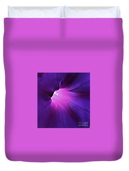 Opening One's Heart Duvet Cover by Sherry Hallemeier