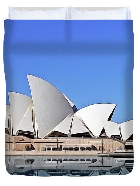 Opera House Duvet Cover