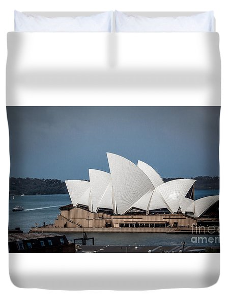 Opera House Duvet Cover