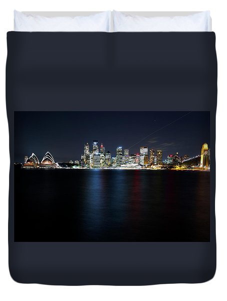 Harbour Streak Duvet Cover