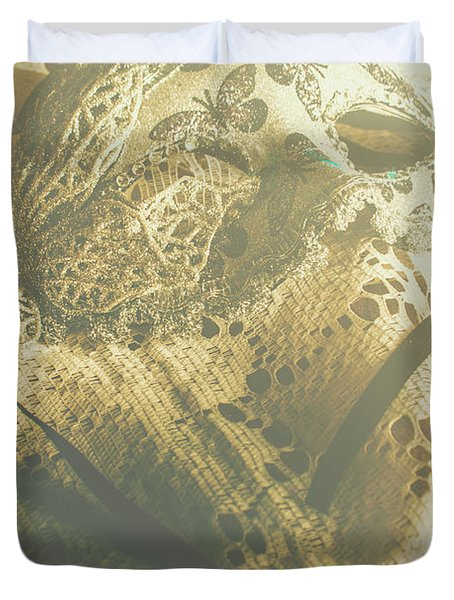 Operatic Art Duvet Cover