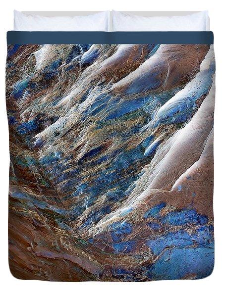 Gemstone Gorge Duvet Cover