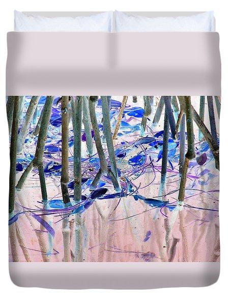 Mangrove Shoreline No. 2 Duvet Cover