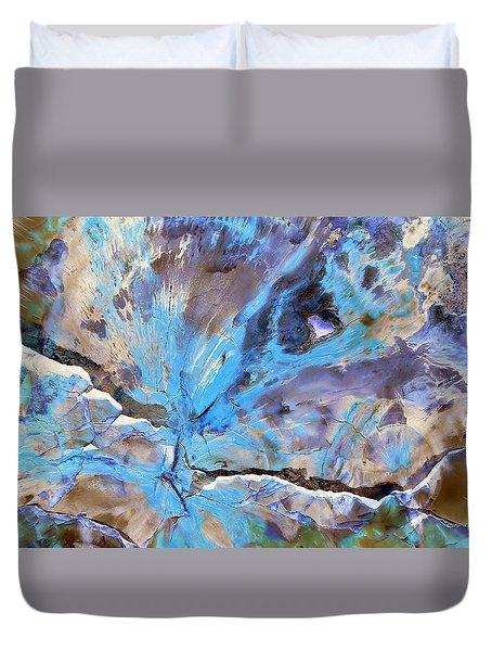 Cracking Glacier Duvet Cover
