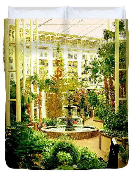 Opryland Hotel Duvet Cover