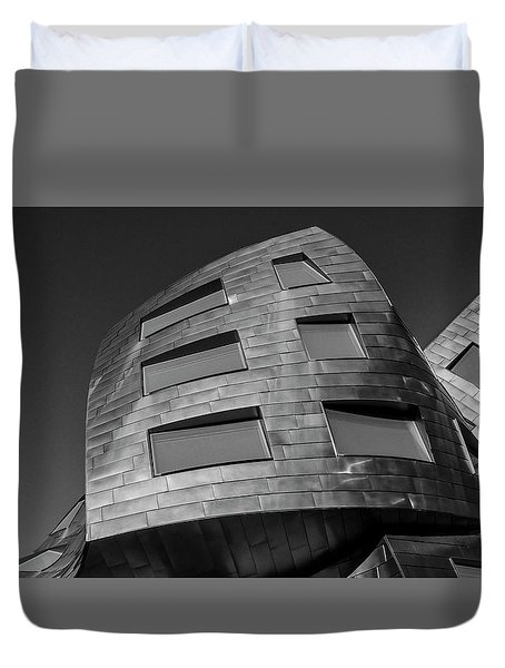 Optical Conclusion Duvet Cover