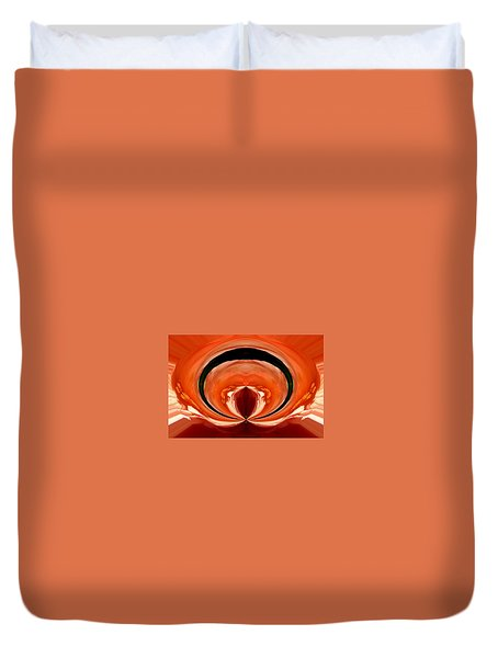 Oracle Of Life Duvet Cover