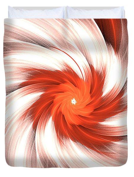 Orange Creme Duvet Cover