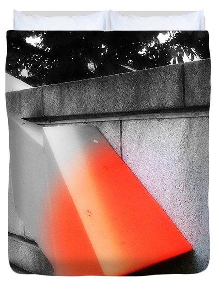 Orange Tipped Arrow Duvet Cover