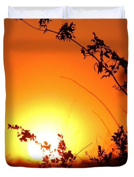 Orange Wonder Duvet Cover