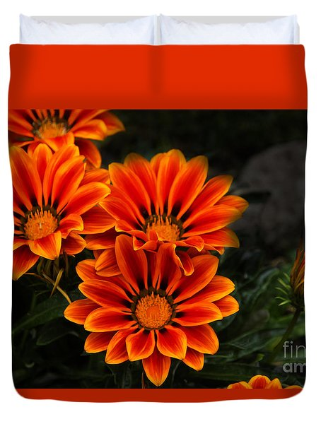 Orange You Glad II Duvet Cover by Al Bourassa
