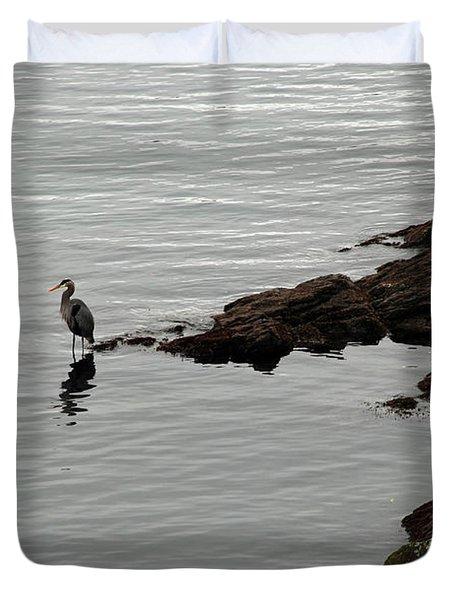 Orcas Island Bird  Duvet Cover