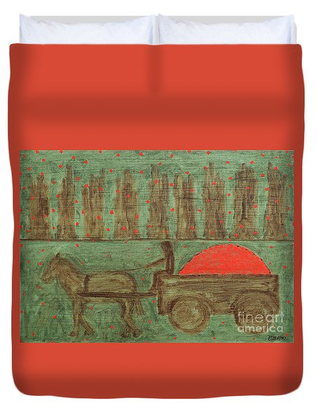 Orchard Duvet Cover by Patrick J Murphy