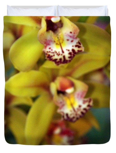 Orchid 11 Duvet Cover by Marty Koch
