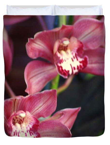 Orchid 14 Duvet Cover by Marty Koch