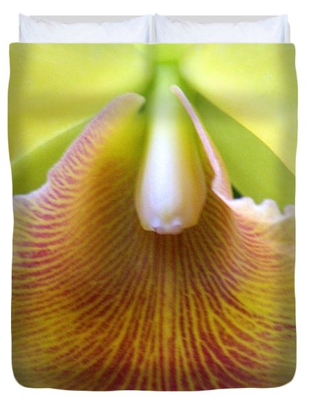 Orchid 21 Duvet Cover by Marty Koch