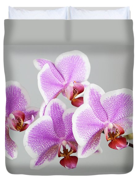 Orchid Array Duvet Cover