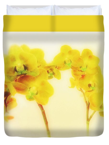 Orchid Collection 'summer' Duvet Cover