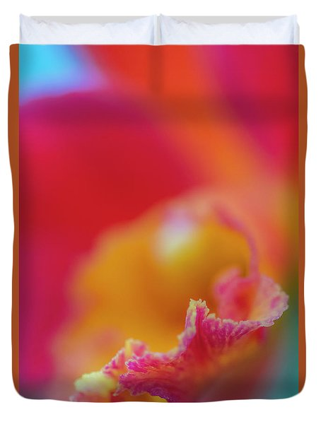 Orchid Detail Duvet Cover