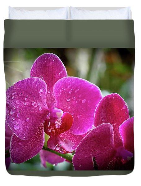 Orchid Dew Duvet Cover